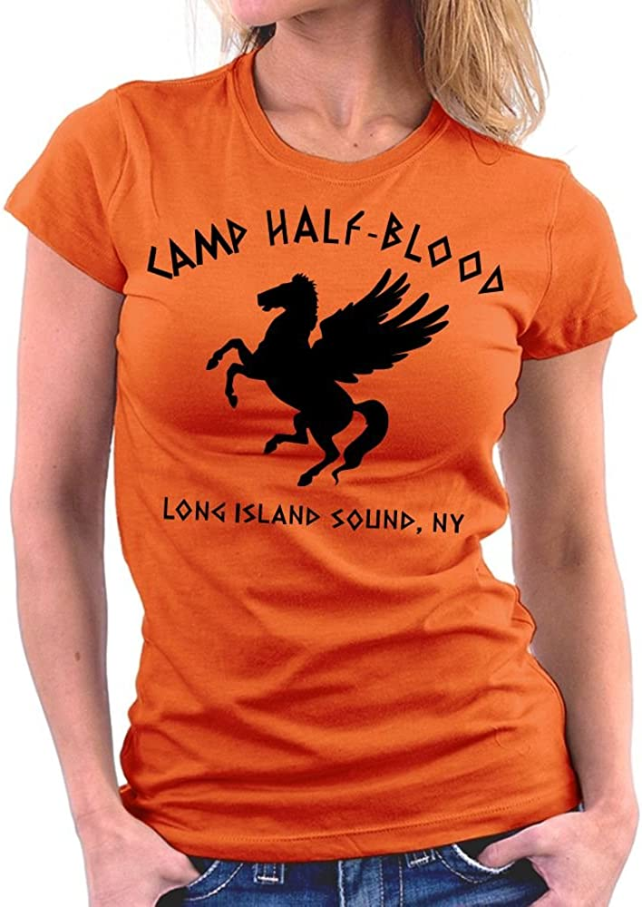 t-shirt da donna Camp camp half-blood Million Nation