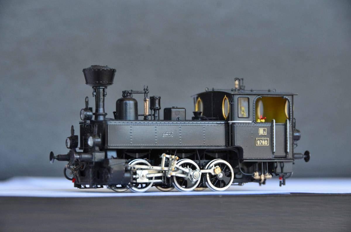 Eisenbahn Canada HO-017/1 オーストリア K.K.St.B. Rh 97.60 蒸気機関車 B07NQN4N16