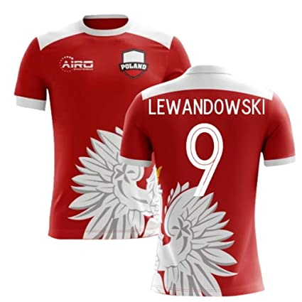new concept 066ca 09341 Amazon.com : Airosportswear 2018-2019 Poland Away Concept ...