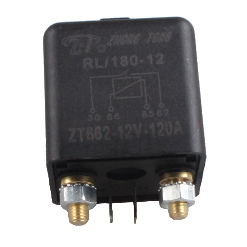E Support 12v 120a Relay Car Truck Boat Marine Heavy This Is The Simple 12 Volt Glow Plug Circuit Duty Split Charge Rl180 Wm686 Cell Phones Accessories