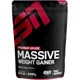 ESN Massive Weight Gainer, Vanilla Ice Cream, 4kg