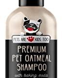 Premium Pet Oatmeal Shampoo & Conditioner - For Dogs, Puppies & Cats! All Natural, Organic, Hypoallergenic, Baking Soda, Aloe Vera & Vitamins! Perfect For Allergies & Sensitive Dry Itchy Skin!