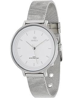 Reloj Marea Mujer B41197/1 Esterilla Blanco