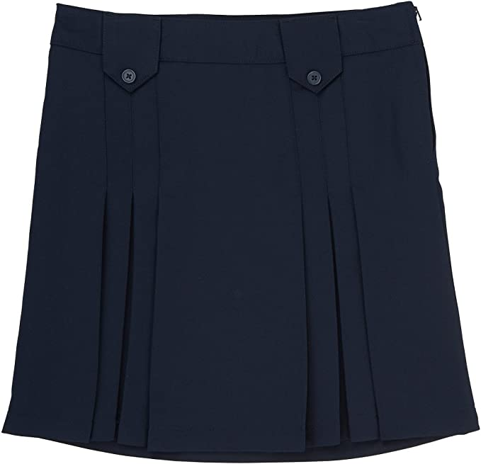 Girls Navy Blue Pleated Skirt French Toast School Uniform Sizes 4 to 20
