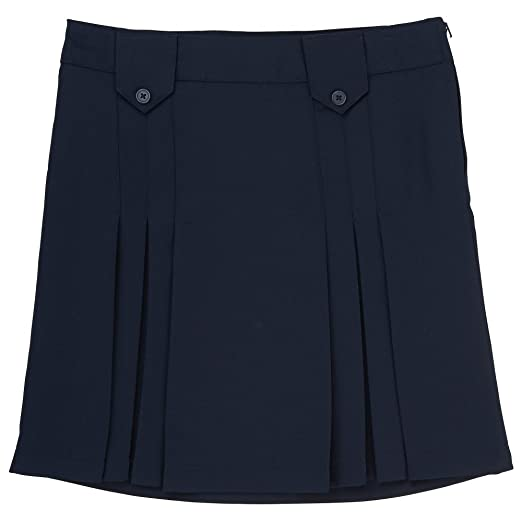 3734f9c6e81 Amazon.com  French Toast Girls  Front Pleated Skirt with Tabs  Clothing