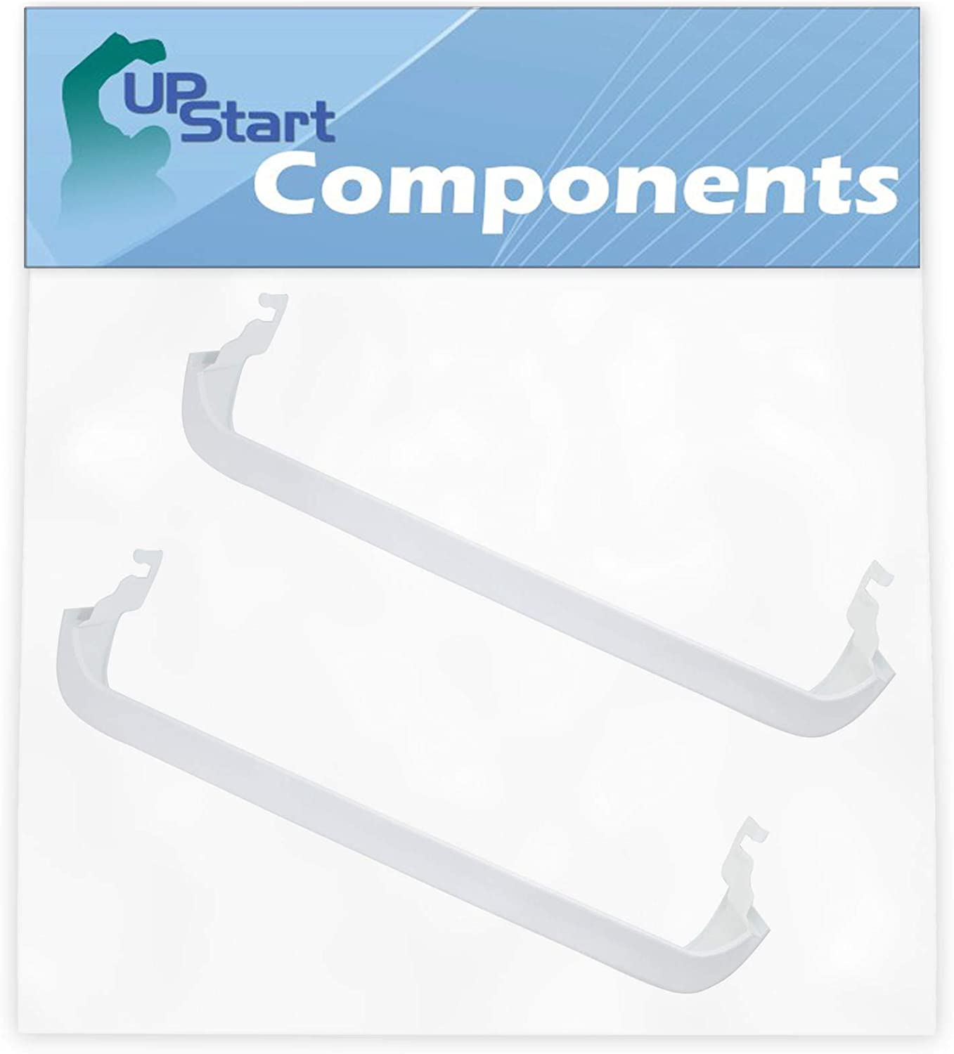 2-Pack 240338001 Refrigerator Door Bin Shelf Replacement for Kenmore/Sears 253.60819710 Refrigerator - Compatible with AP2115859 Door Bin