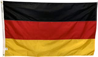 product image for 12x18 Germany Boat Flag - All Weather Nylon with Header & Grommets - Proudly Made in The USA