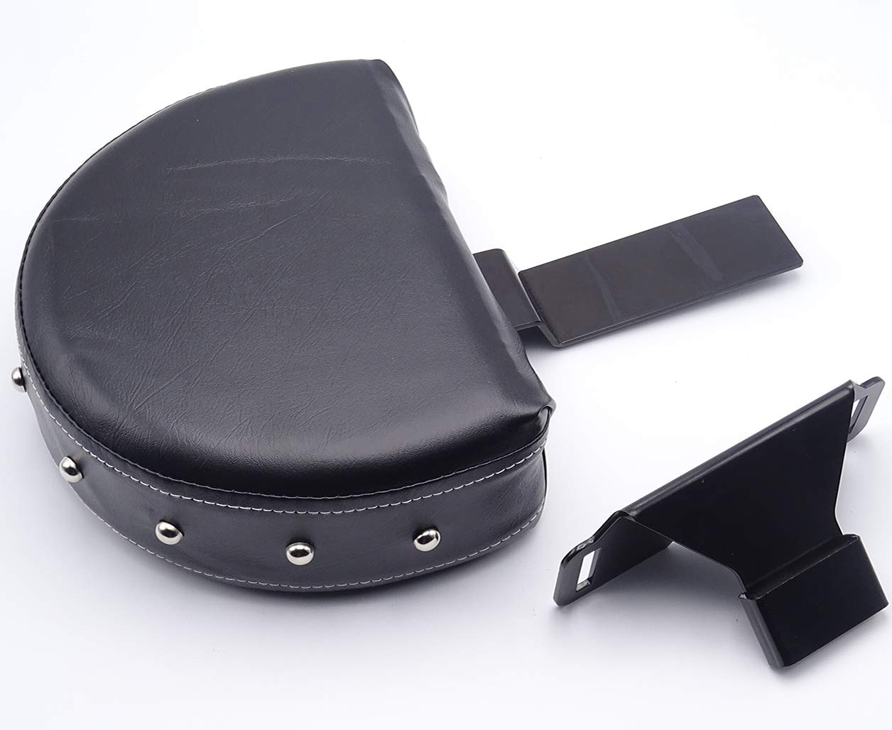 Detachable Driver Backrest Kit Studded Pad for 2014-2019 Indian Chief Chieftain Springfield