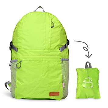Liveasy Ultra Lightweight Foldable Packable Backpack abbb13ea99144