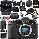 Fujifilm X-T2 Mirrorless Digital Camera (Body Only) 16519247 + Fujifilm XF 14mm f/2.8 R Ultra Wide-Angle 16276481 Bundle