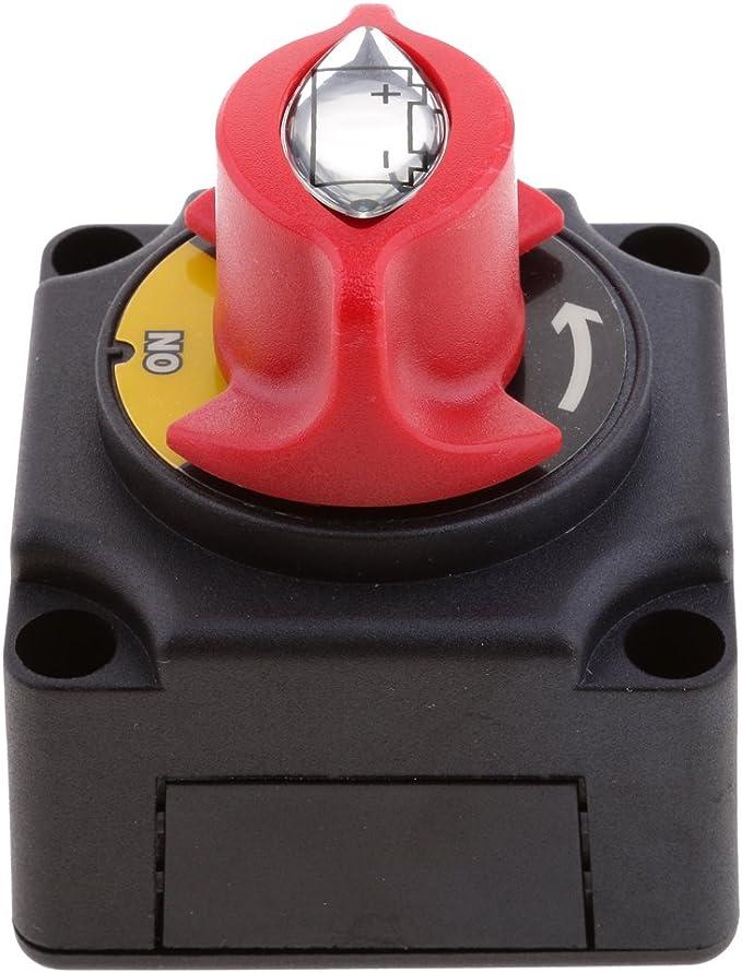 Sharplace Batterieschalter Hauptschalter Strom Schalter Batterietrennschalter Für Boot Wohnmobil Rv Fahrzeuge Auto
