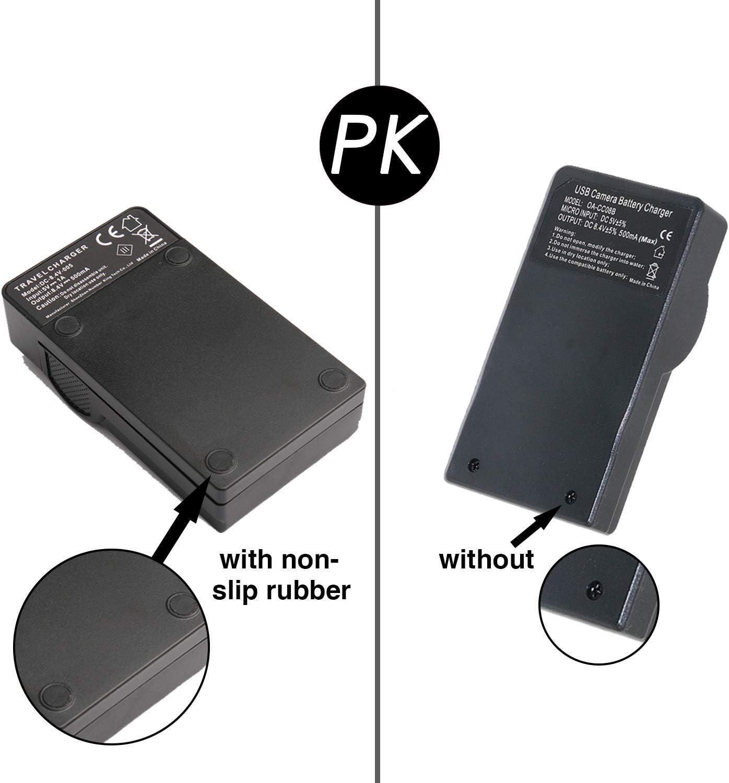 DCR-SR45 DCR-SR42E USB LCD Display Battery Charger for Sony DCR-SR42 DCR-SR45E Handycam Camcorder