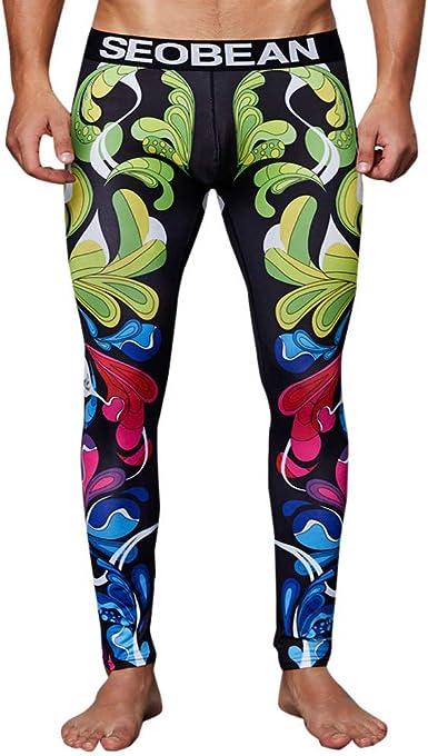 VPASS Pantalones para Hombre, Impresión Chándal de Hombres ...