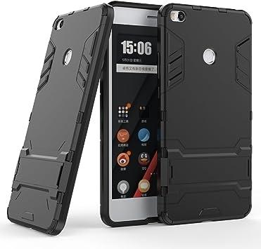 XiaoMi Mi Max 2 Funda, SMTR Ultra Silm Híbrida Rugged Armor Case ...