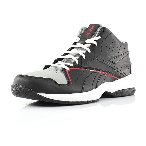 Reebok - Zapatillas de Baloncesto para Hombre Negro Negro 45 ...