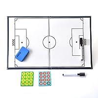 AGPTek Portable Tactical Board for Football Coach (Size: 42cm x 27cm)