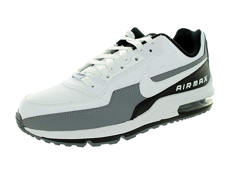 the best attitude 2550b b6fdc Nike Men s Air Max Ltd 3 Running Shoe, White White Black Cool Grey, 13 D(M)  UK 48 D(M) EU  Amazon.co.uk  Shoes   Bags