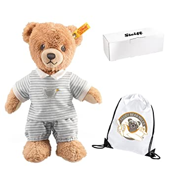 Teddy in sleeping bag child//kids toy//gift