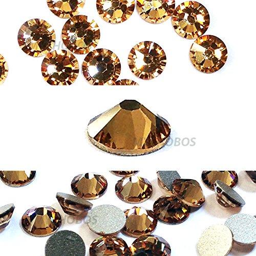 144 pcs Light Colorado Topaz (246) Swarovski 2058 Xilion / NEW 2088 Xirius 16ss Flat backs Rhinestones 4mm ss16 Colorado Topaz Swarovski Crystal Beads