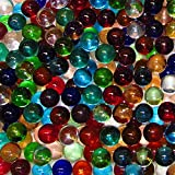 Marble King One Pound 9/16'' (14mm) Transparent Mix Glass Marbles