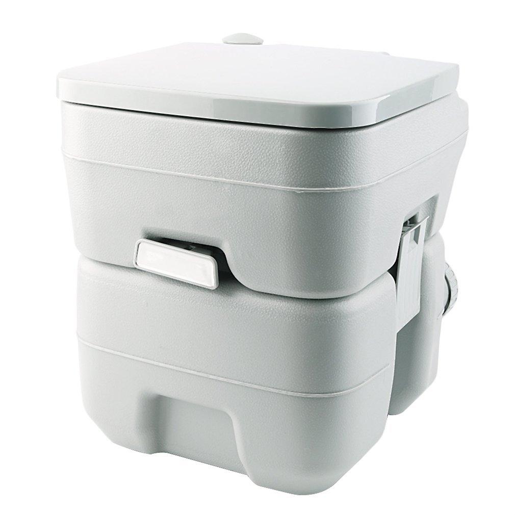 DEoHholly Campingtoilette Camping Toilette Wc, Mobil Toilette mit 20 Litre Abnehmbarer Abwassertank und Doppel