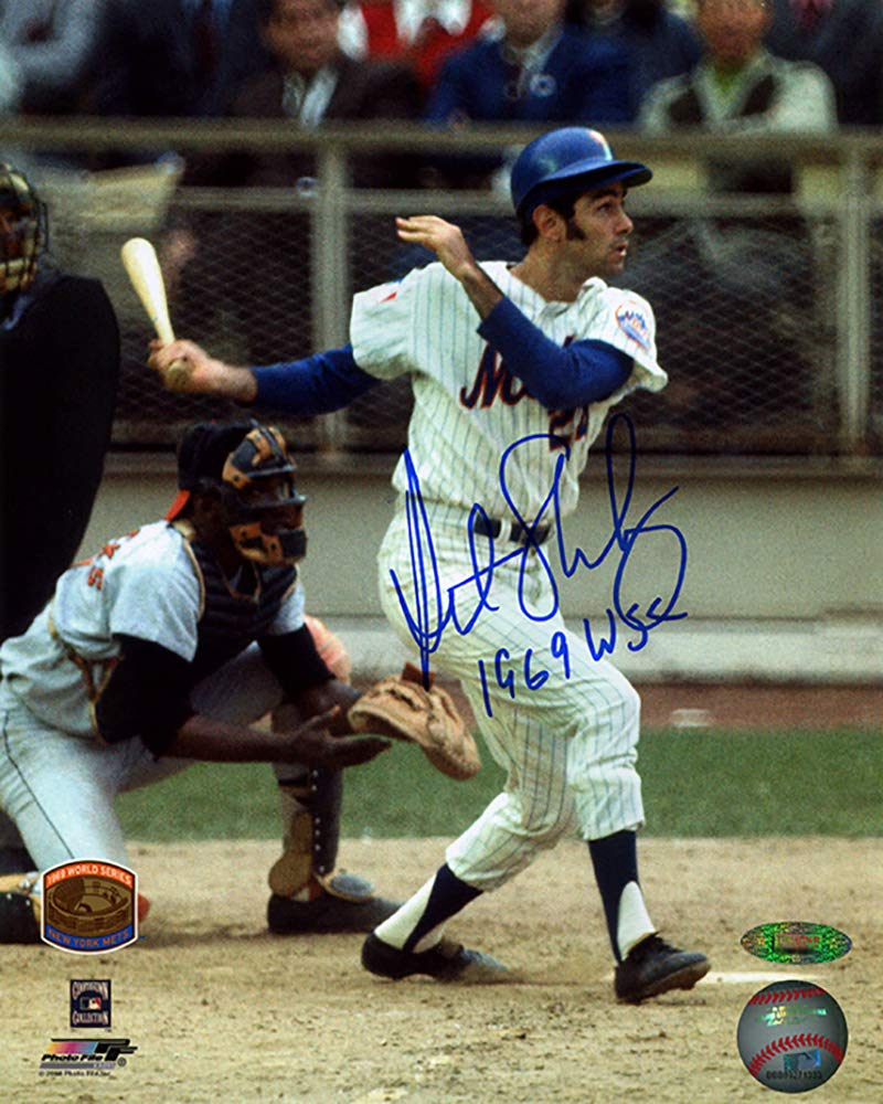 Art Shamsky Signed Autographed New York Mets 8x10 Photo Inscribed 1969 WSC TRISTAR COA TRISTAR Productions