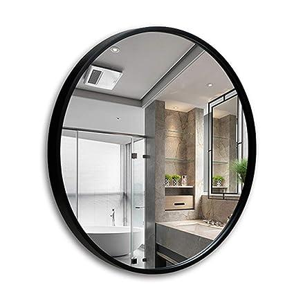 Amazon.com: Round mirror bathroom mirror makeup mirror bedroom ...