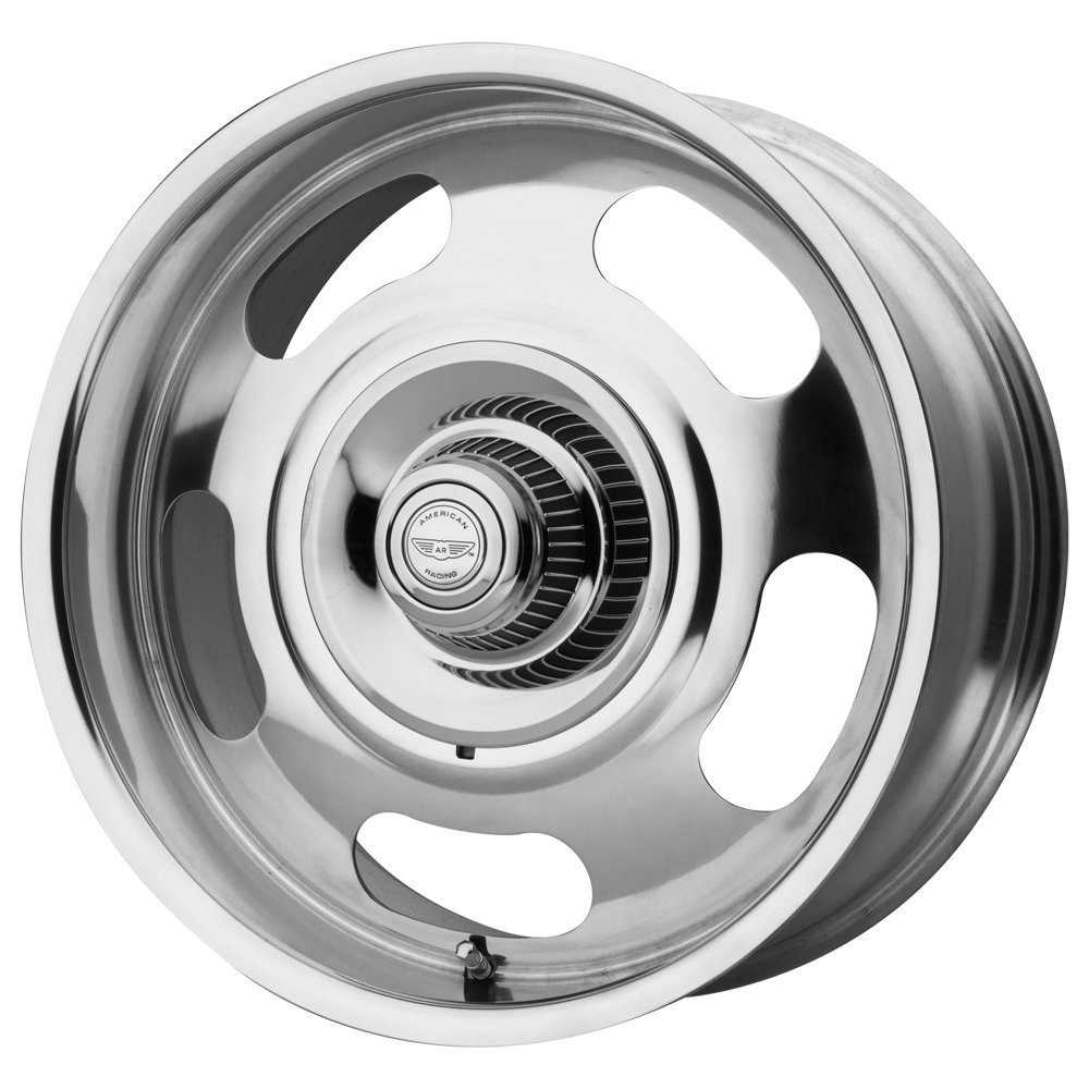 American Racing | VN50679006100 | 17 Inch | VN5061 Wheel/Rim | Polished | 17x9 Inch | 5x120.65/5x127.00/5x4.75/5.0 | 0mm Offset