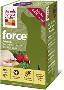 The Honest Kitchen Force Grain-Free Dehydrated Dog Food, 4-Ounce Trial