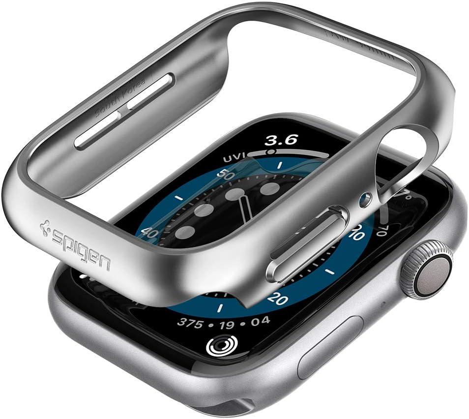 Spigen Thin Fit Designed for Apple Watch Case for 40mm Series 6/SE/5/4 - Graphite