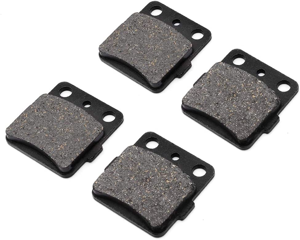 Brake Pads Fydun Brake Pad Rear Front /& Rear Iron Brake Pads Set 6pc for Yamaha Grizzly 660 4x4 YFM660F 2002-2008 Brake Pads