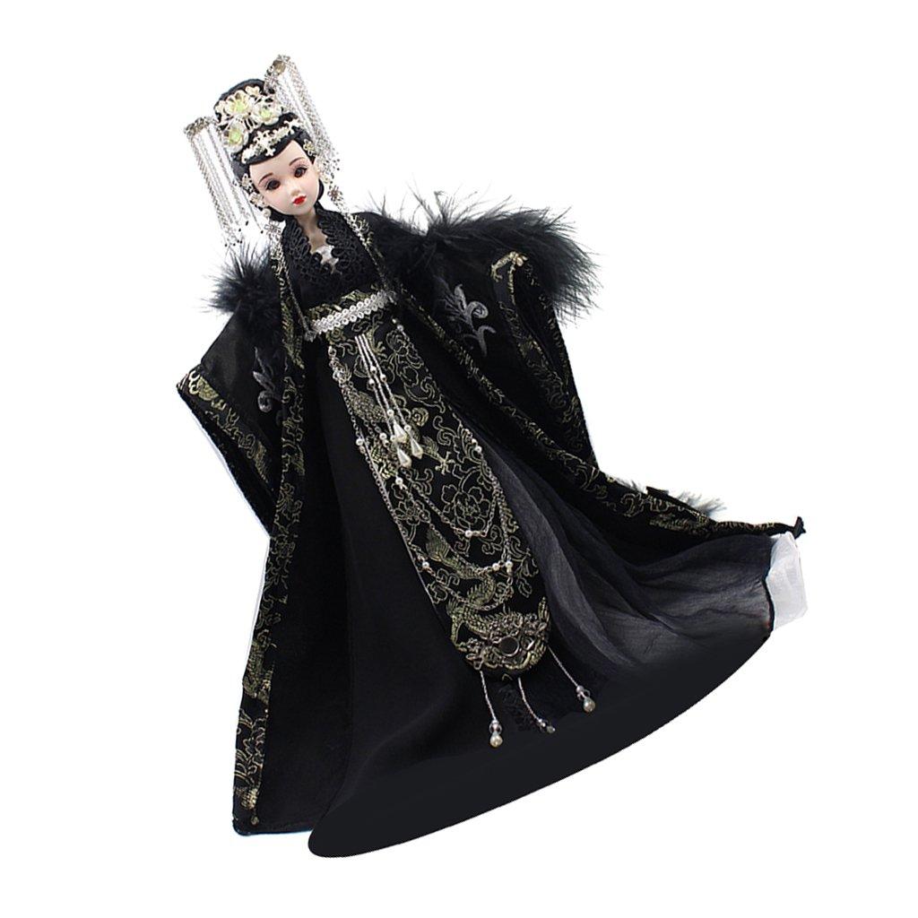 Baoblaze Traditionelle Orientalische Kostümpuppe Song-Dynastie Frau Puppe Dekofigur, Geburtstagsgeschenk für Freunde Oder Kinder -   4