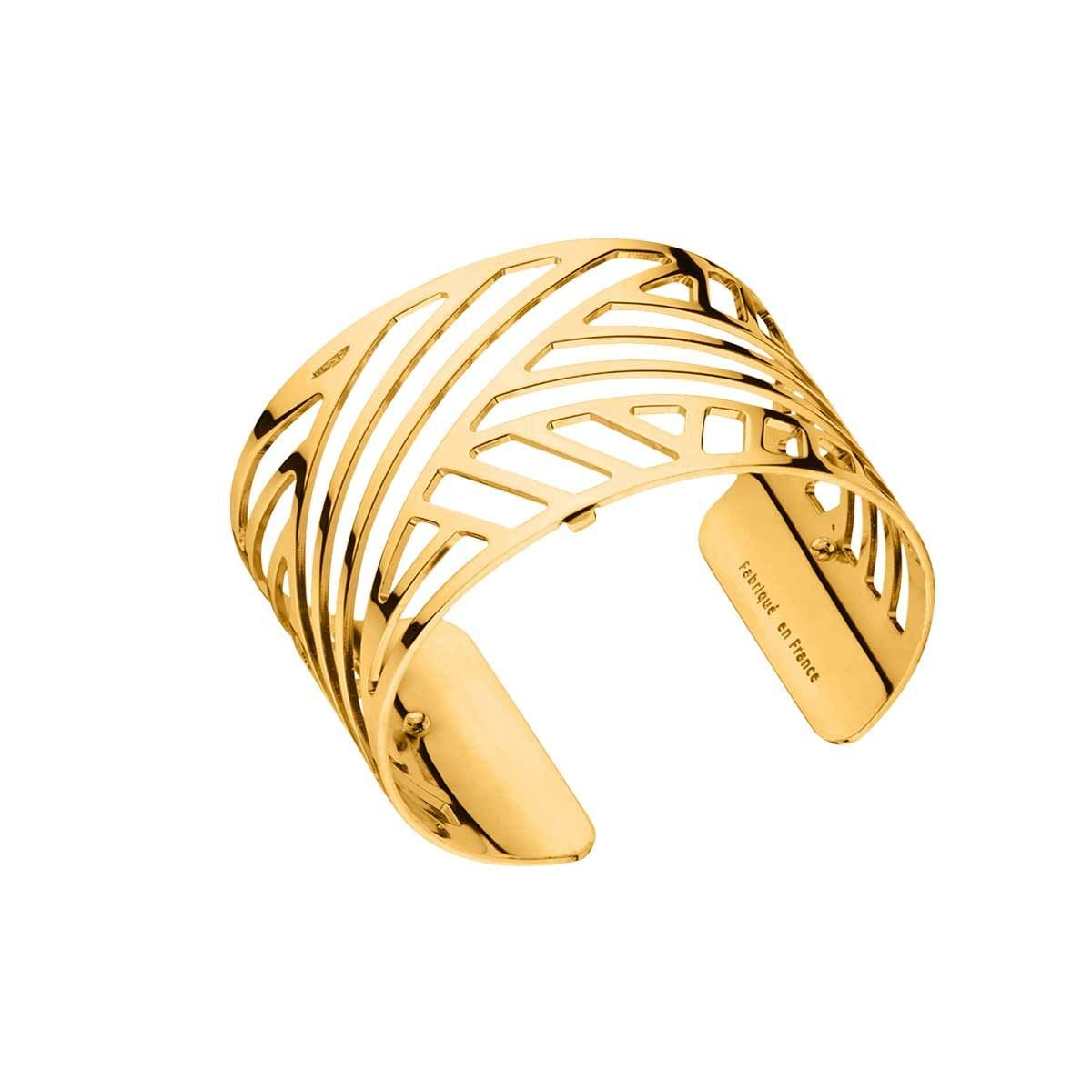 Les Georgette Ruban 40mm Cuff in Gold