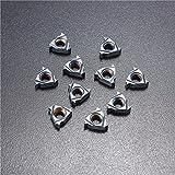 Hitommy 10pcs 11IR AG55 Carbide Inserts Internal Threading Turning Cutting Tool