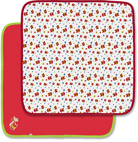 Spencer's 2 Pack Thermal Receiving Blankets- Owls & Red 2 Pack Thermal Blanket