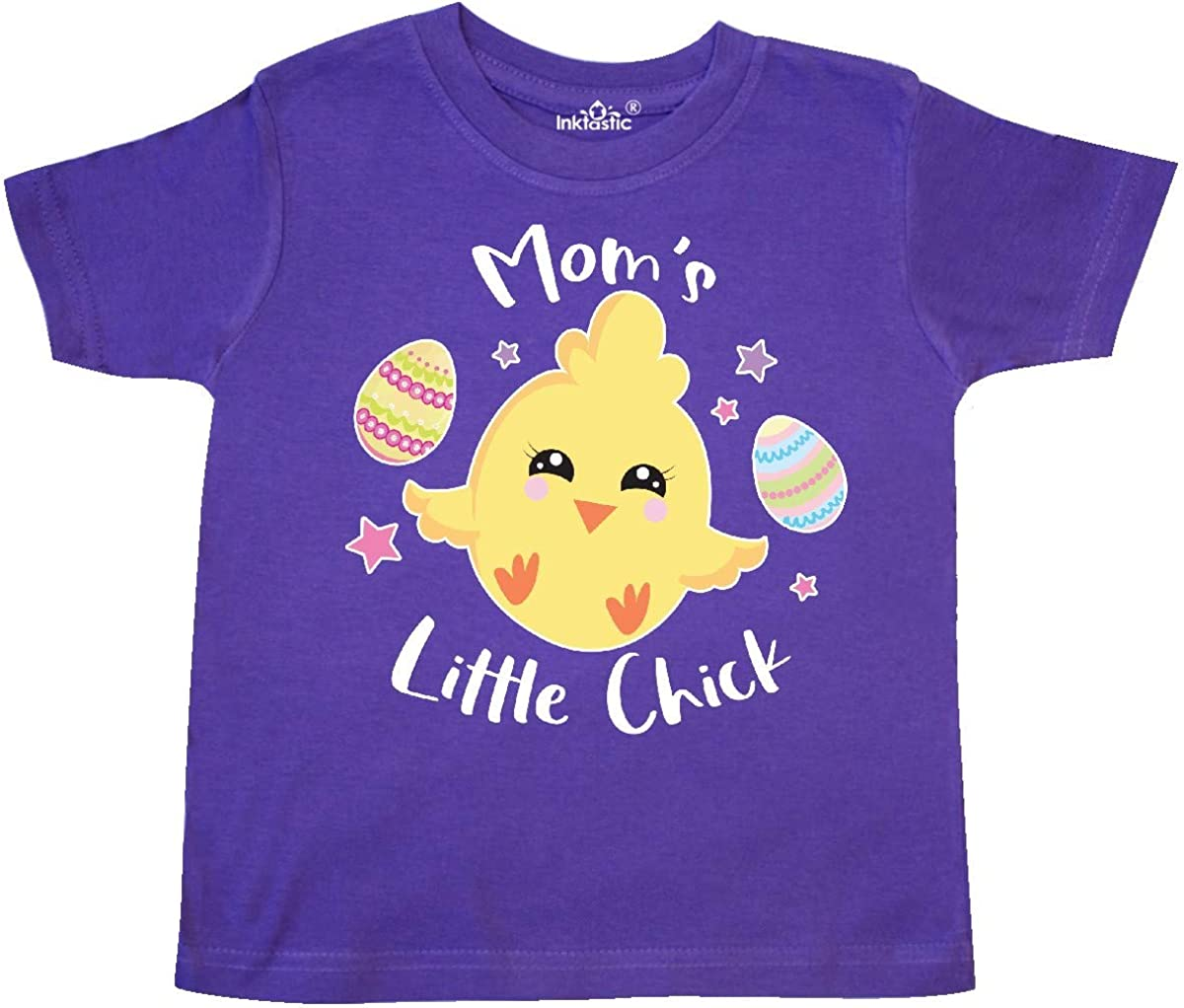inktastic Happy Easter Moms Little Chick Toddler T-Shirt