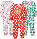 Simple Joys by Carter's Girls' Toddler 3-Pack Snug