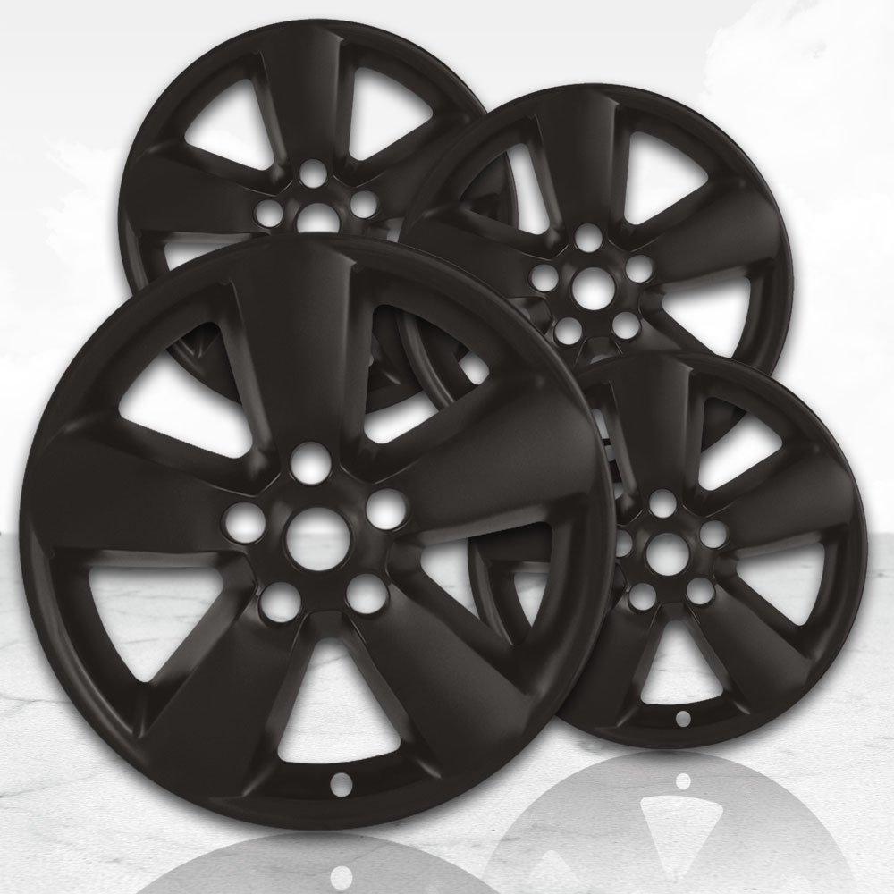 20'' Matte Black Wheel Skins (Set of 4) for 2013-2017 Dodge RAM 1500 - 2495