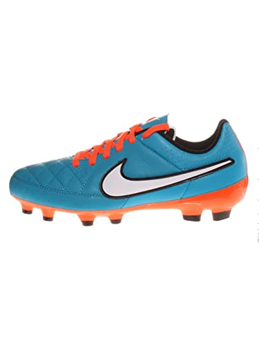 Nike Jr Tiempo Genio Leather Fg Kinder Fussballschuhe Neo