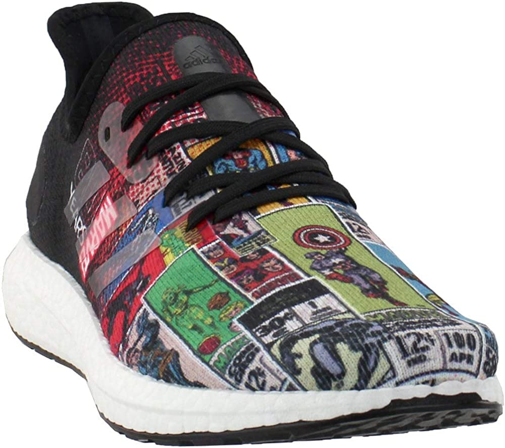 adidas Mens Am4 Marvel 80 Vol. 2 Running Sneakers Shoes - Black