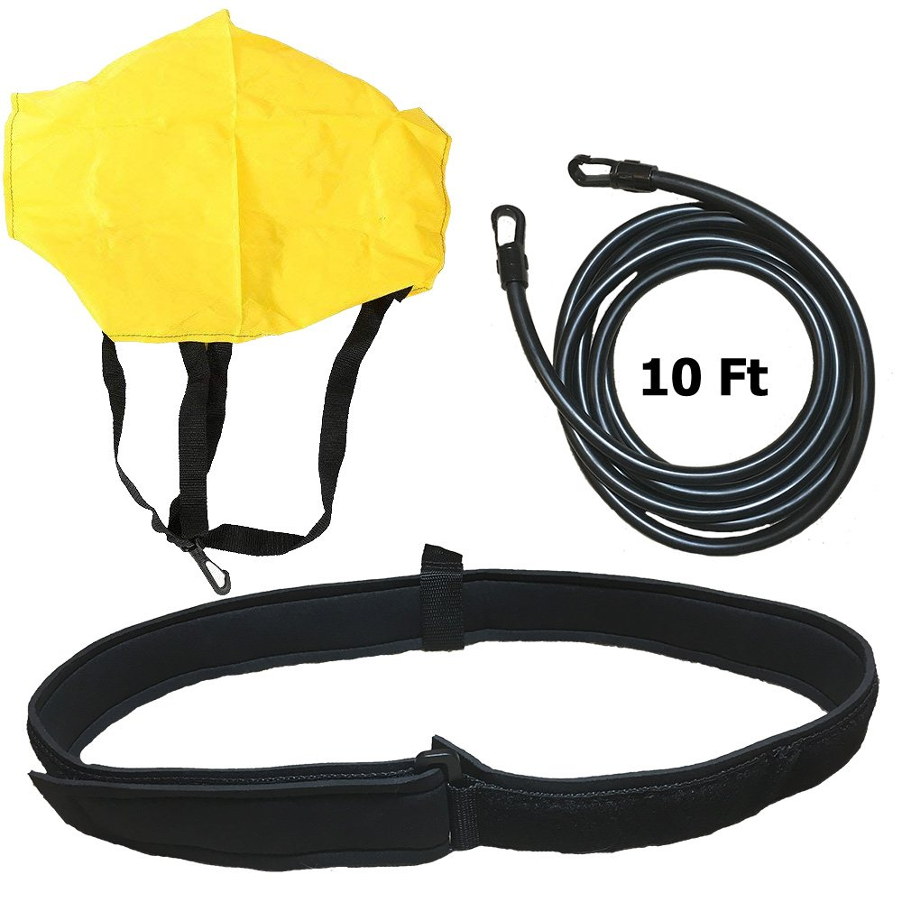 """Occult LLC Swimming Resistance Belt - 20"""" to 40"""" Belt 