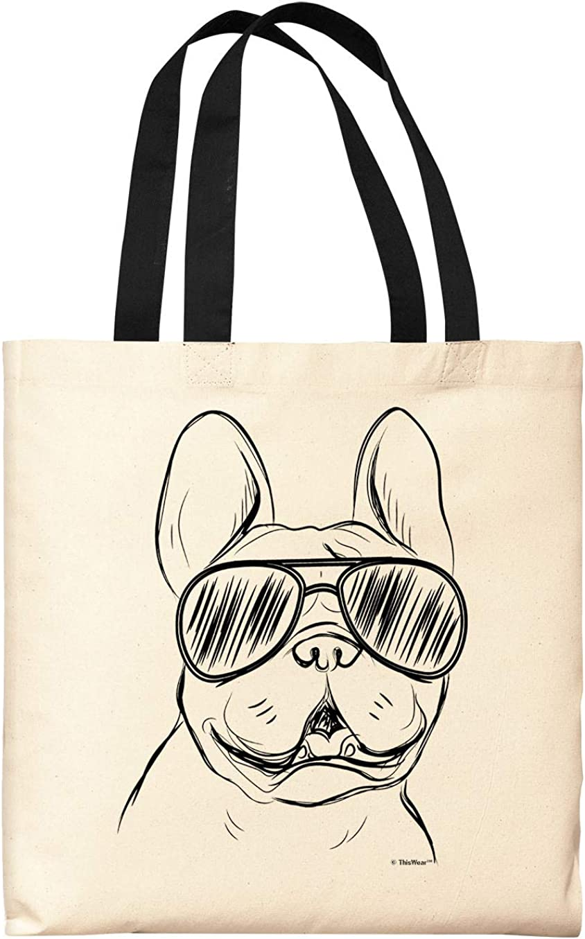 Dog//Dogs//present//dog gift I can/'t Keep Calm I have a French Bulldog tote bag