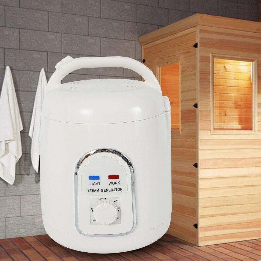 1,5 L cuerpo interior M/áquina de cocci/ón port/átil para sauna de vapor