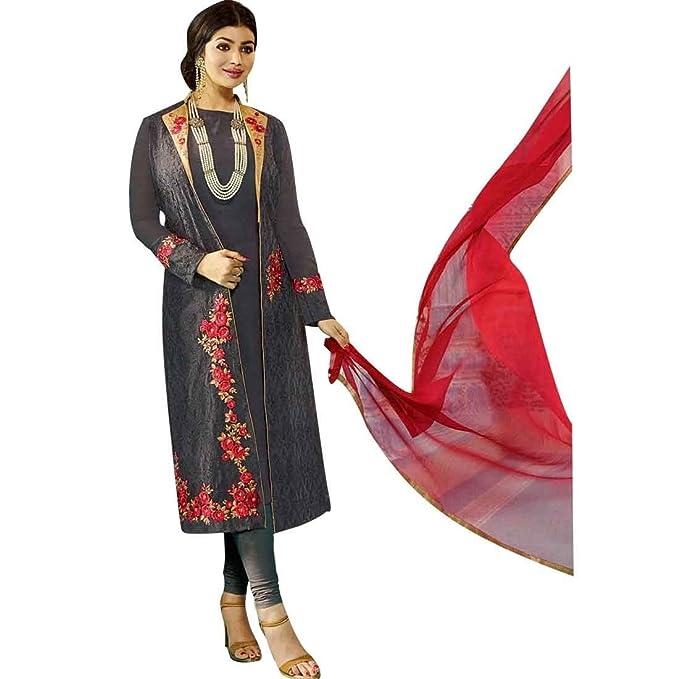 Amazon.com: ladyline Diseñador Bollywood Boda Bordado ...