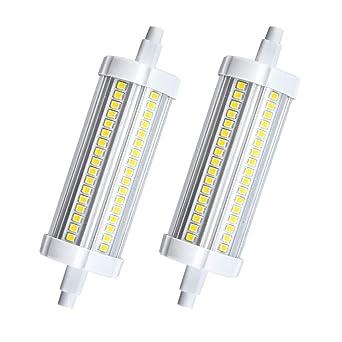 Bonlux No Regulable 20W R7S 118MM LED Bombilla Lineal J118 para Lámpara de Pie, Lámpara