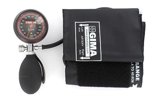 Medidor de presión arterial de Londres, esfigmomanómetro profesional, puño negro: Amazon.es: Amazon.es