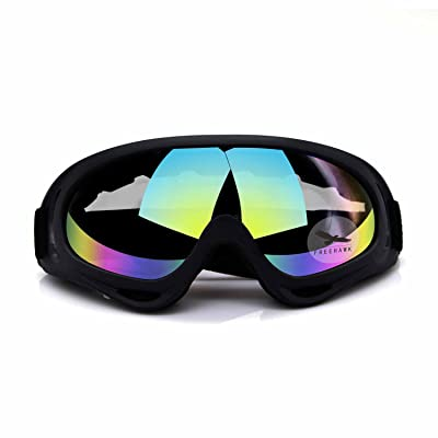 Freehawk Adjustable UV Protective Outdoor Glasses Motorcycle Goggles Dust-Proof Protective Combat Goggles Military Sunglasses Outdoor Tactical Goggles to Prevent Particulates in Colorful: Sports & Outdoors
