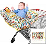 2-in-1 Shopping Cart Cover | High Chair Cover for Baby...