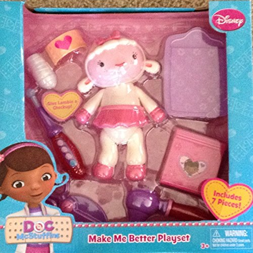 Disney-Doc-McStuffins-Make-Me-Better-Playset-Lambie-Includes-7-Pieces