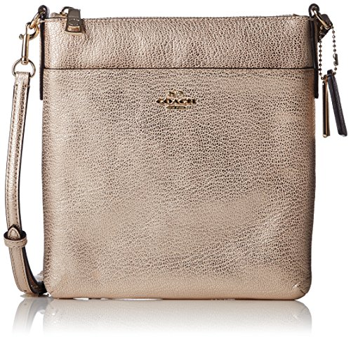 Womens Embossed Textured Leather Swingpack